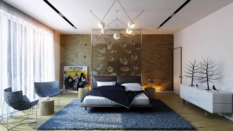 arredare casa moderna idea camera letto design