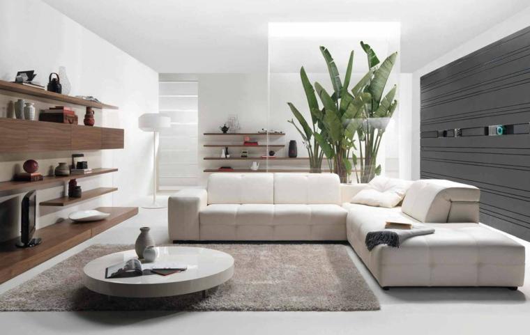 arredare casa moderna soggiorno divano grande