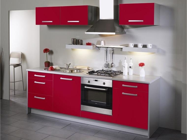 Cucina rossa: passione, vitalità ed eleganza in un unico ...