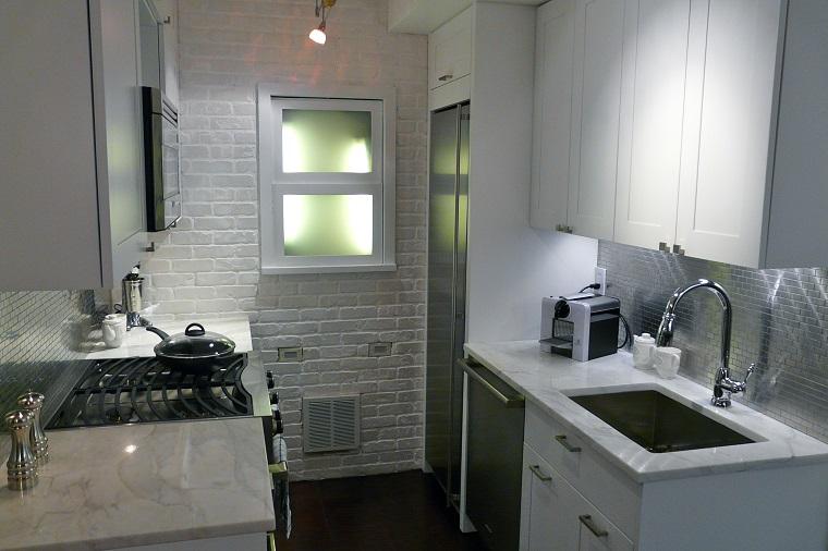 Cucina piccola: 24 soluzioni di design per ottimizzare lo spazio ...