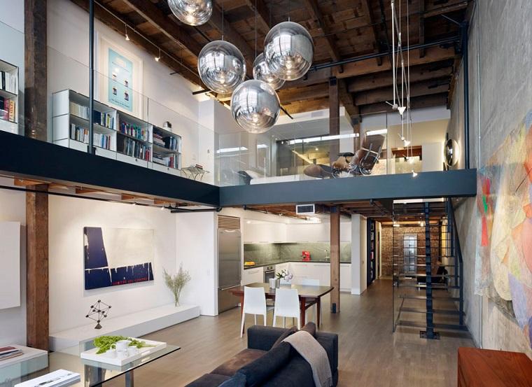arredare monolocale design particolare lampadario originale design moderno
