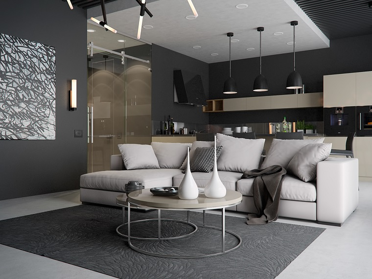 Idee soggiorno 24 suggerimenti per arredare la zona for Soggiorno stile moderno