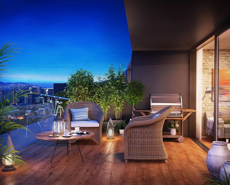 Arredare terrazzo suggerimenti originali per il vostro for Mobili da terrazzo in legno