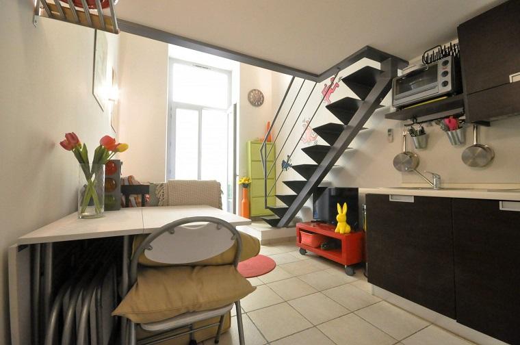 arredare un monolocale dimensioni piccole mobili