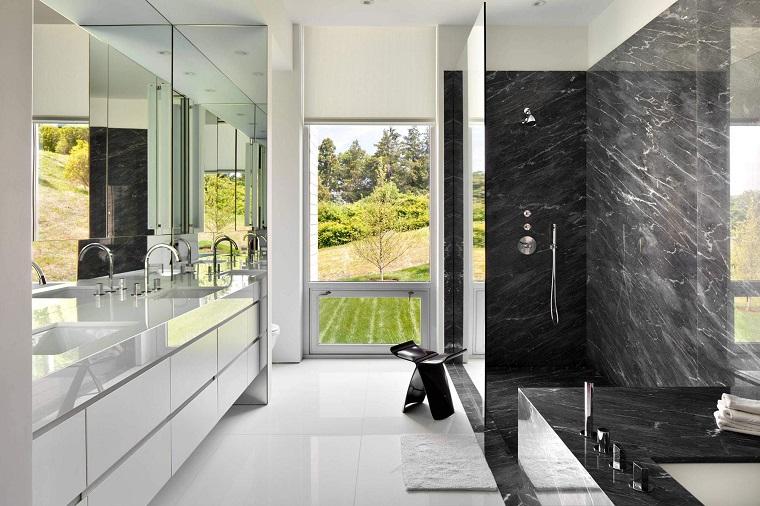 Bagno moderno 100 idee e soluzioni di design per un for Arredo bagno lusso