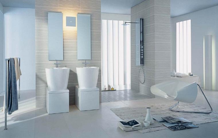 arredo bagno elegante inserti moderni