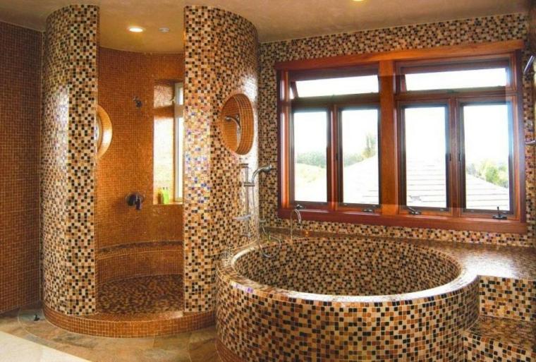 Bagni con mosaico ecco alcune idee davvero creative e chic - Arredo bagno mosaico ...