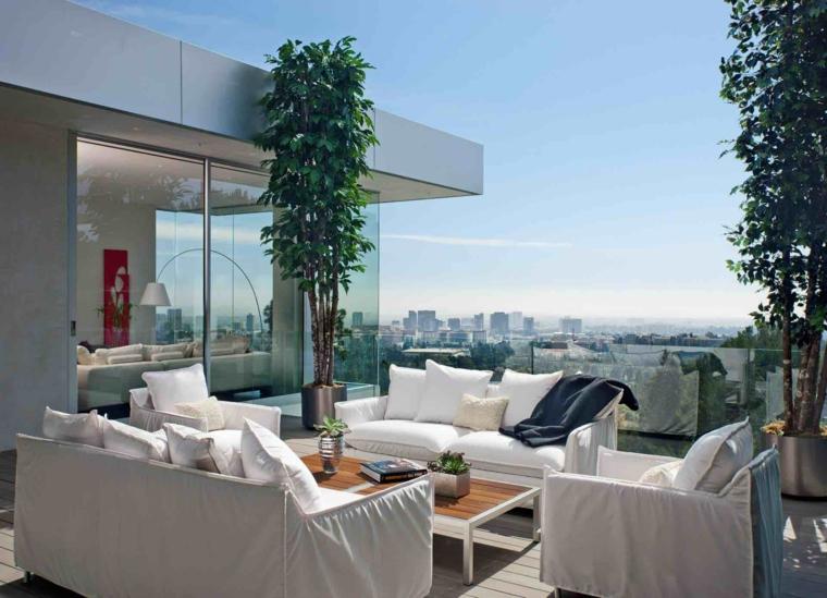 arredo balcone idea moderna originale particolare