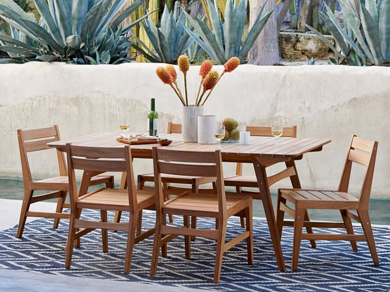 arredo giardino set mobili legno