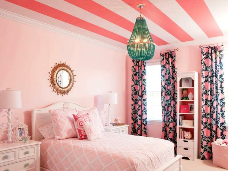 arredo shabby chic camera letto rosa sogno
