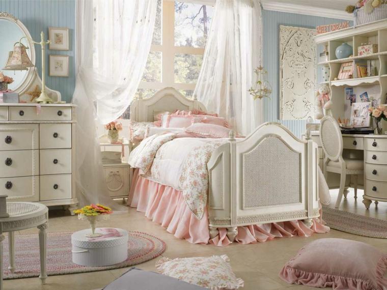 arredo shabby chic idea originale camera letto