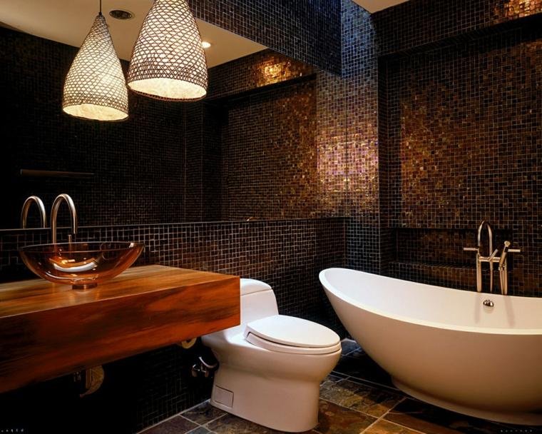 bagni con mosaico idea originale chic particolare
