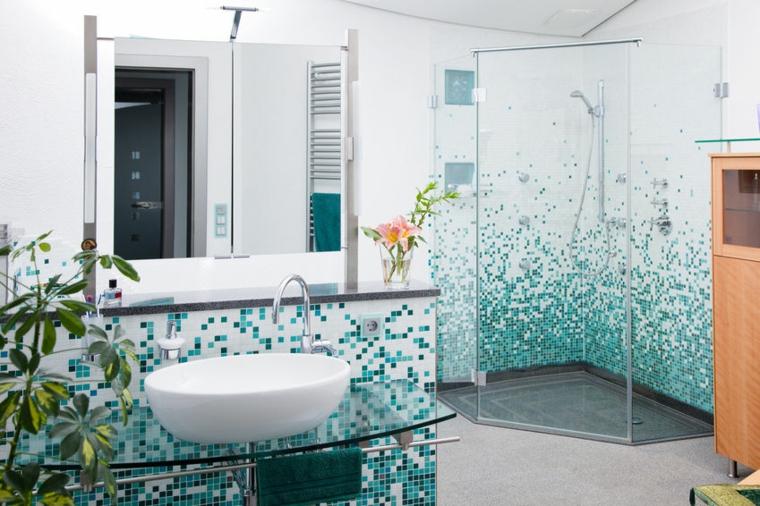Bagni con mosaico ecco alcune idee davvero creative e chic
