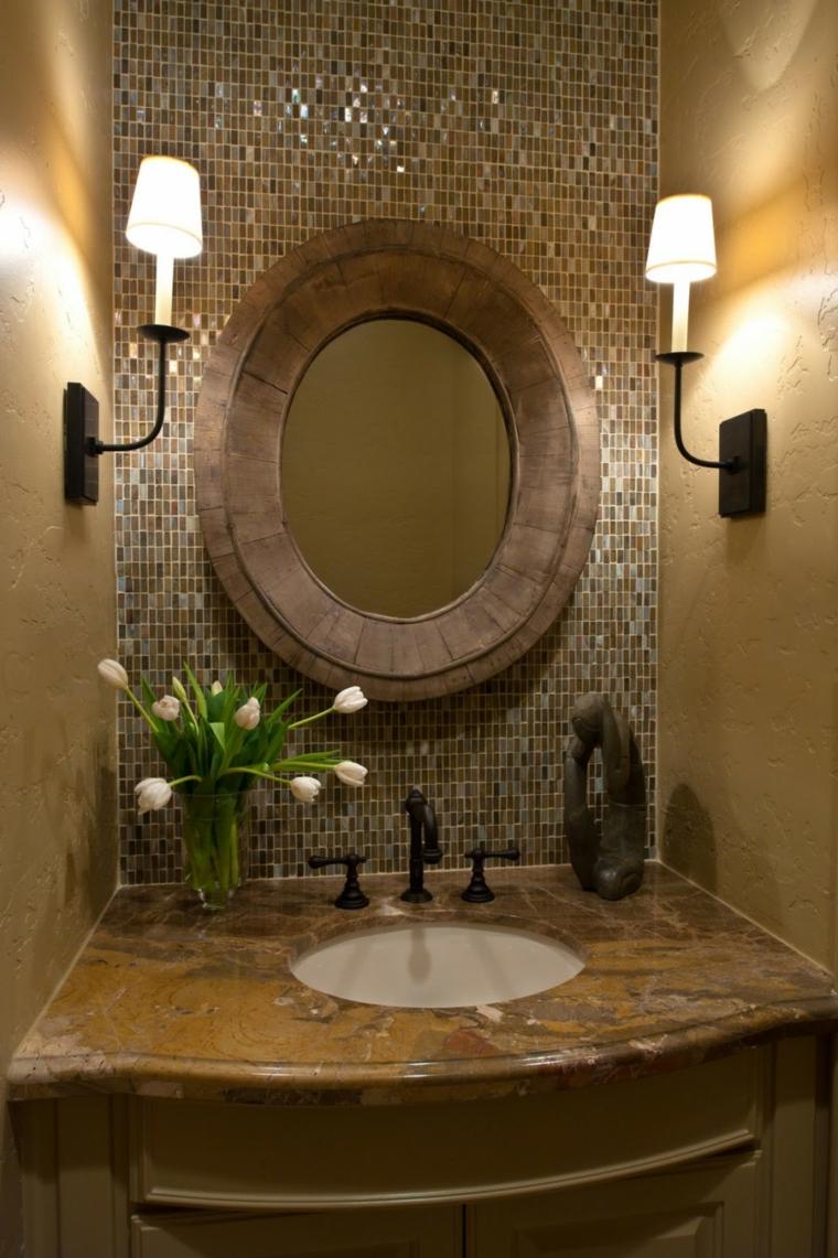 bagni con mosaico proposta particolare moderna