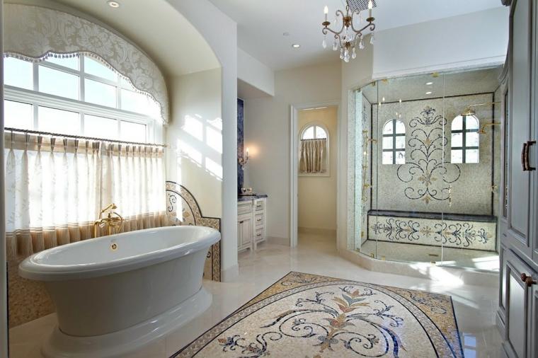 bagni con mosaico suggerimento originale chic