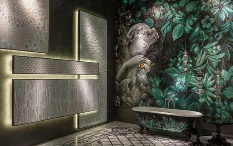 bagni con mosaico suggerimento particolare originale