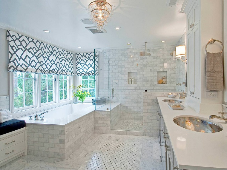 bagni eleganti proposta bianco