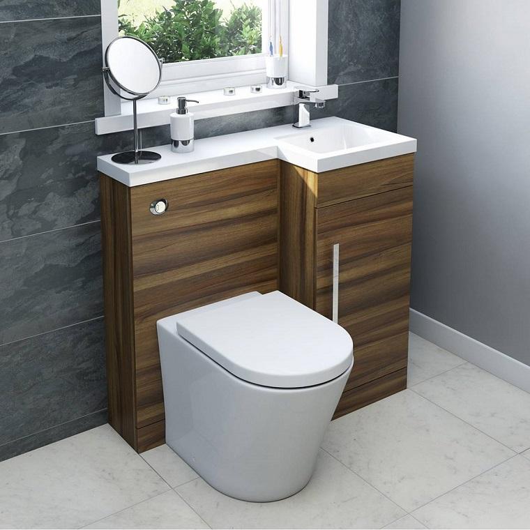 bagni moderni piccoli mobile salvaspazio