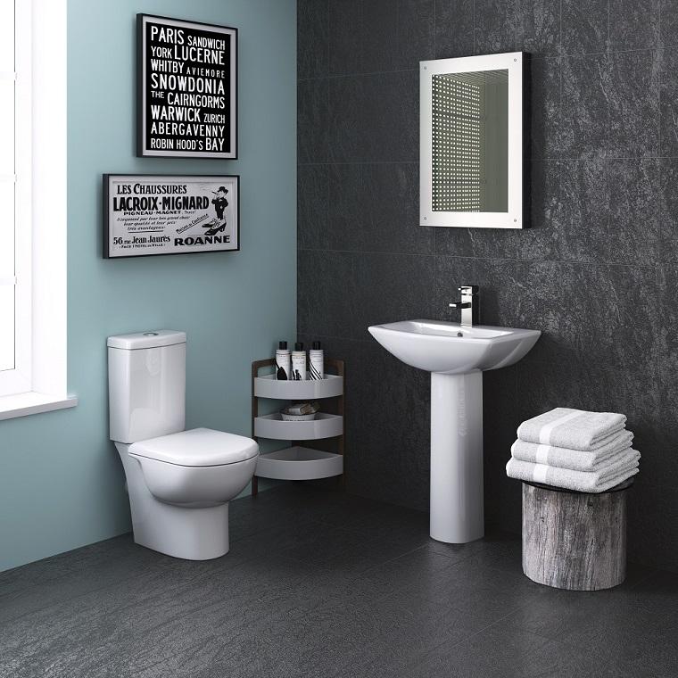 bagni piccoli moderni proposta minimal
