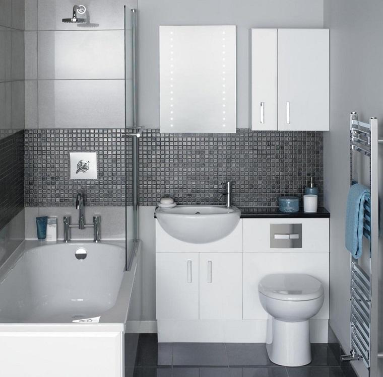 bagni piccoli moderni vasca