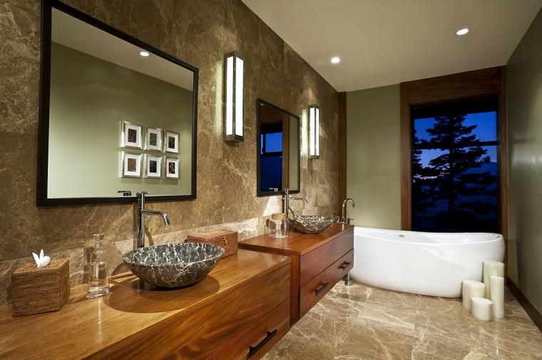 bagno elegante lavabi vasca design