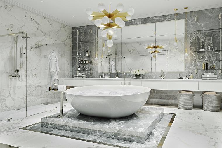 Bagno moderno: 100 idee e soluzioni di design per un ...