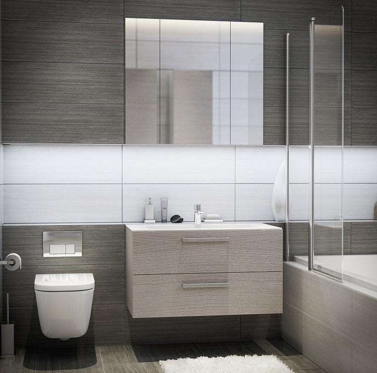 Bagno moderno 100 idee e soluzioni di design per un - Subito mobile bagno ...