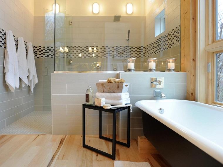bagno moderno vasca colore nero