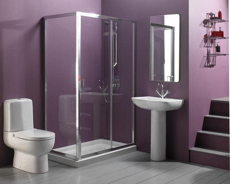 bagno piccolo moderno box doccia