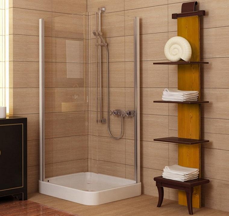 bagno piccolo moderno doccia mobile