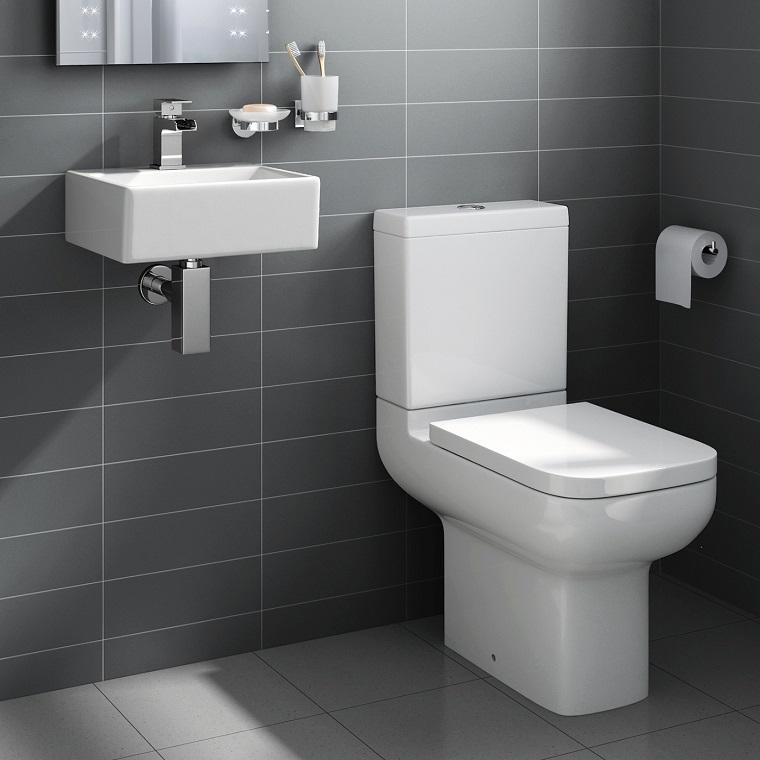 Bagni piccoli moderni 24 proposte belle funzionali con - Disposizione bagno piccolo ...