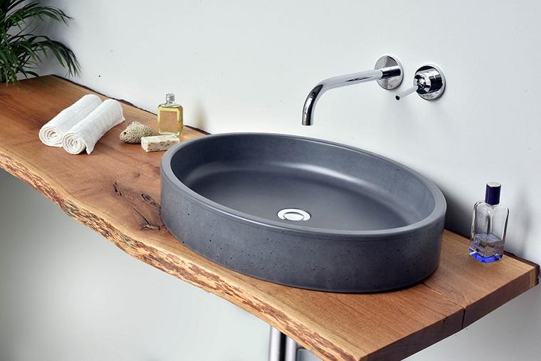 Rivestimenti Bagno Ultima Moda : Bagno rustico il sapore autentico della pietra e legno