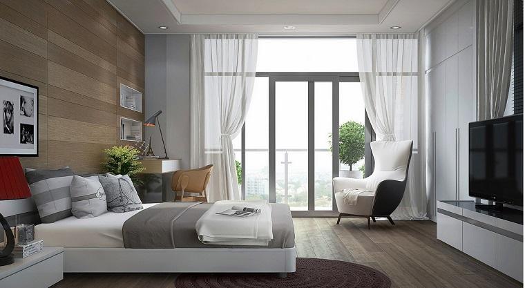 camera da letto mobili stile contemporaneo