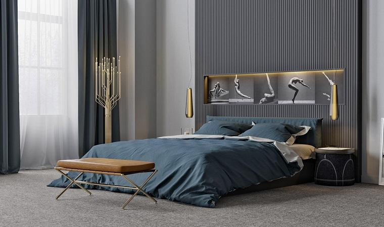 camera da letto moderna elegante stile