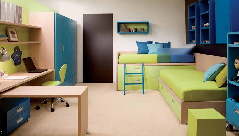 camera ragazzo-due-letti-mobili-legno