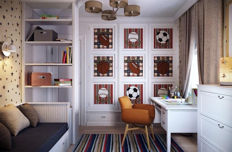 Camera ragazzo i complementi d 39 arredo e lo stile pi adatto for Arredamento camera ragazzo