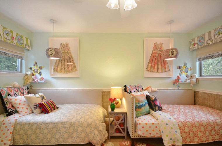 Camerette per ragazze moderne tante idee originali per for Idee per camerette