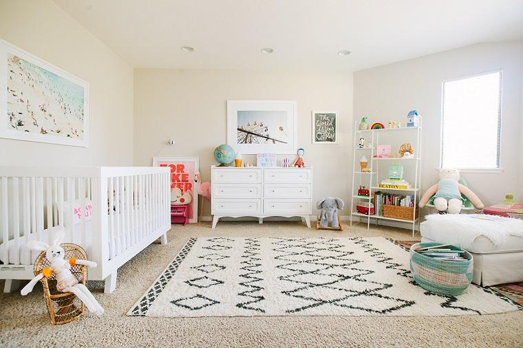 colori pareti camerette idea tonalita chiare