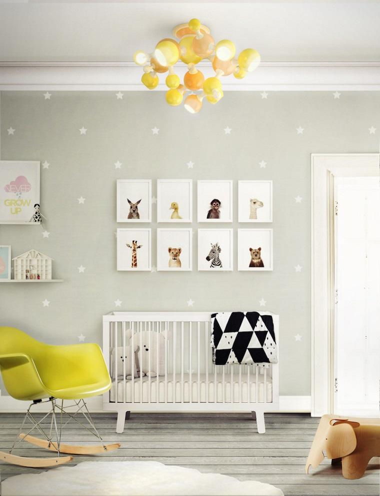 colori pareti camerette ispirazione stile scandinavo