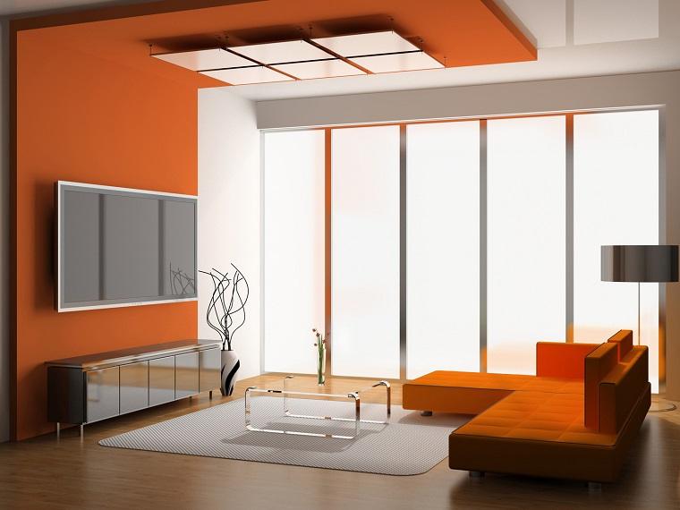 colori pareti soggiorno proposta moderna