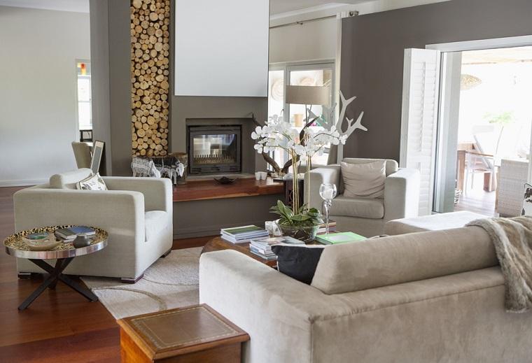 come arredare un soggiorno mobili design classico