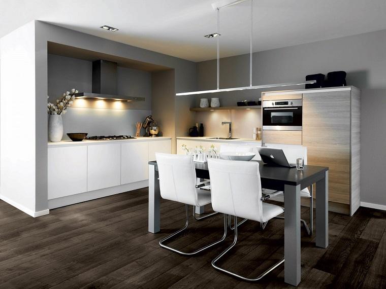 Cucina ad angolo ispirazioni per un arredo di design per - Composizione cucina ad angolo ...