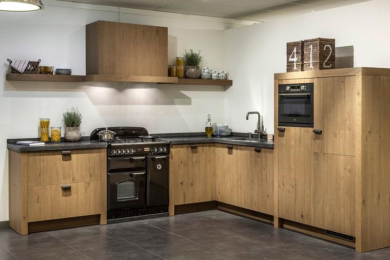 cucina ad angolo proposta mobili legno