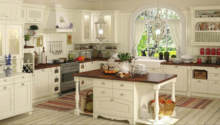 cucina bianca idea design semplice originale moderno