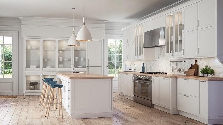 Cucina bianca moderna: una selezione di 24 idee di tendenza ...