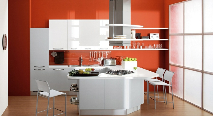 cucine colorate idea mozzafiato design moderno