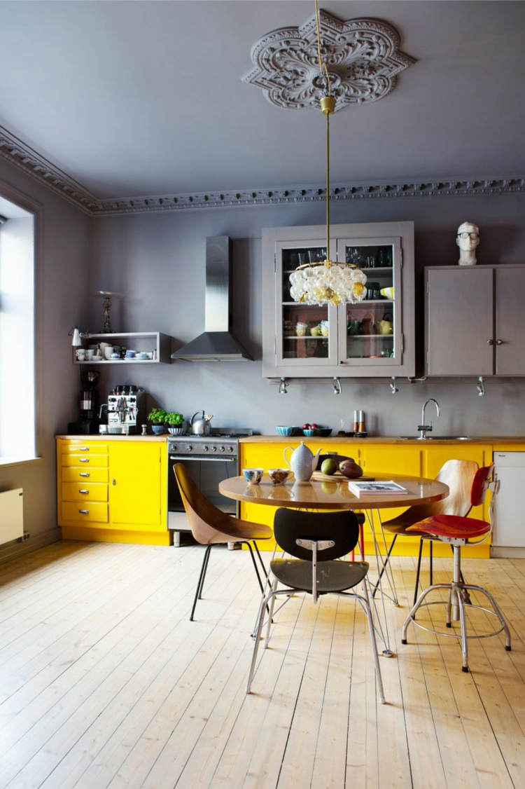 cucina colorata idea vivace fresca design moderno