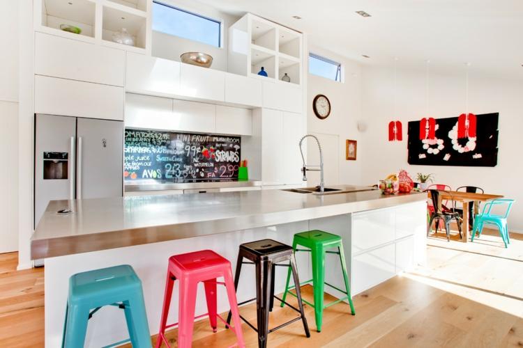 cucina colorata suggerimento fresco vivace particolare