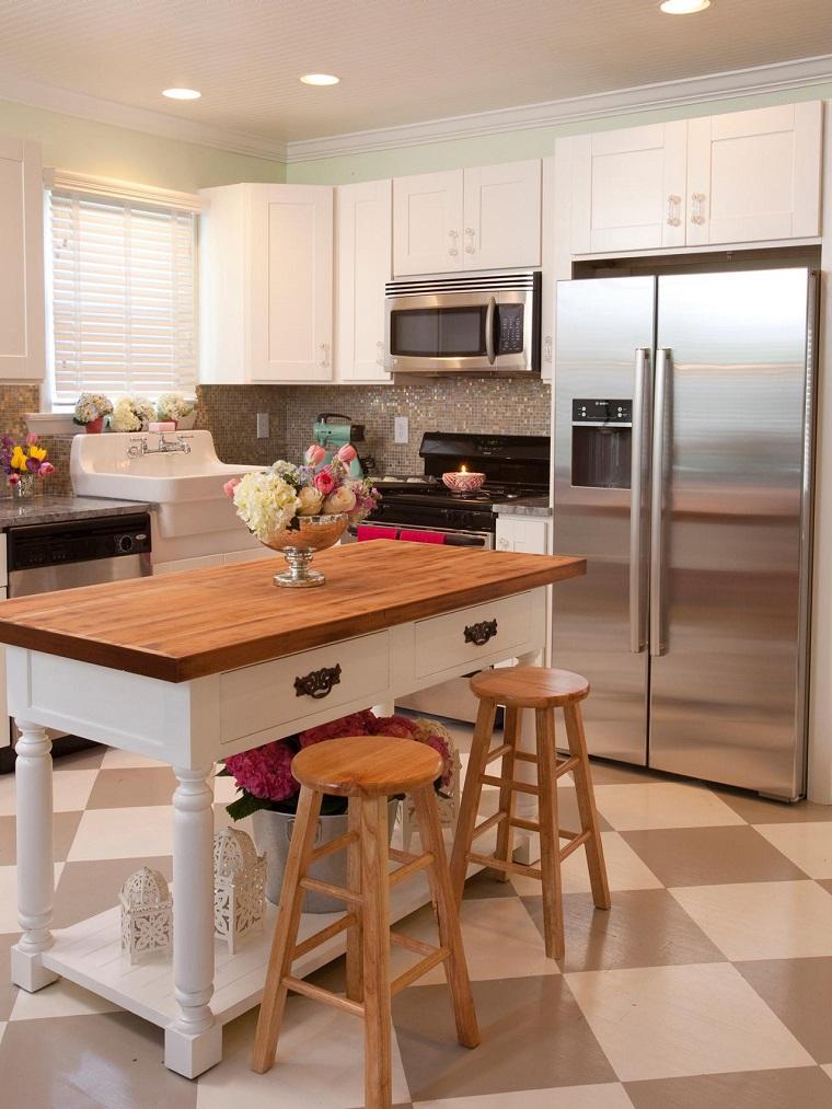 Cucina Con Isola In Legno Scorrevole Interior Design : Cucina con isola tante idee all avanguardia insegna