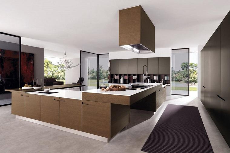 cucina open space ampie dimensioni